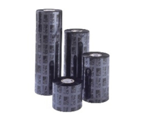 Nastro (ribbon) termico, 2300, cera, 104mm x 450m, nero (in scatole da 12 rotoli)